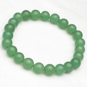 Bracelet-8mm-Green-Aventurine-Gemstone-Round-Beads-Stretch